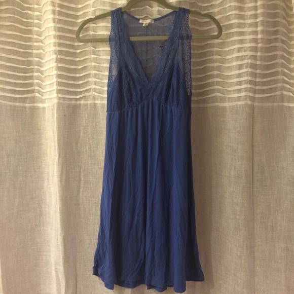 Fleur\'t Intimates & Sleepwear   Fleurt Lingerie Lace Chemise Evening ...